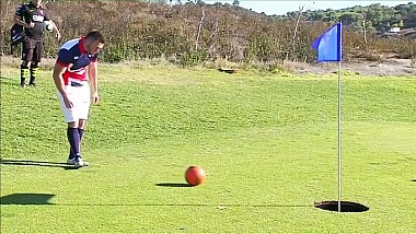Parkinson, cel mai bun la footgolf