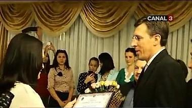 Îndrăgita interpretă, Sofia Rotaru a primit titlul de cetăţean de onoare al oraşului Chişinău