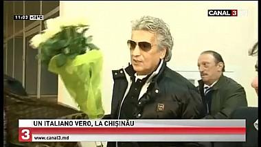 Legenda muzicii italiene, Toto Cutugno a sosit la Chişinău