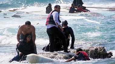 Marea Egee: 242 de imigranți au fost salvați de la înec