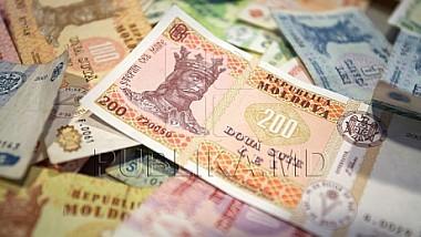 Leul moldovenesc se apreciază semnificativ faţă de moneda unică europeană