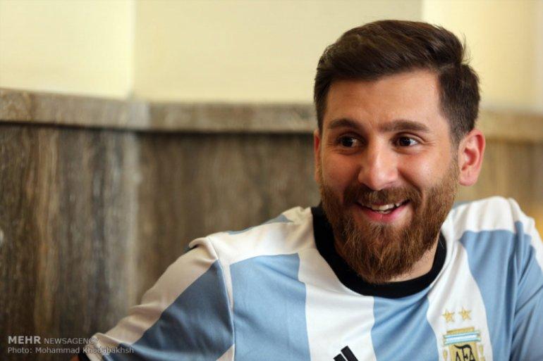 Leo Messi are o sosie în Iran