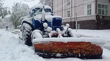 Armata Naţională intervine cu militari şi unităţi de tehnică specială pentru ajutarea populației și înlăturarea consecinţelor ninsorii