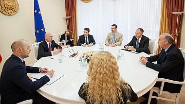 Întrevedere Filip-Pettit. SUA vor continua să susţină Republica Moldova în aplicarea reformelor