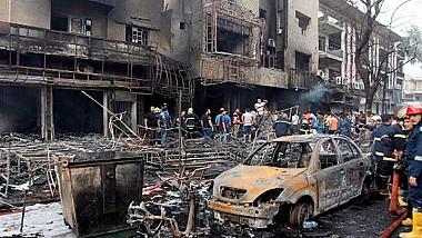 Начиненный тротилом автомобиль взорвался в столице Ирака