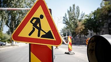 Внимание, водители! Участок дороги на Сфатул Цэрий, в периметре между улицами Букурешть и Антона Коропчану будет закрыт на ремонт