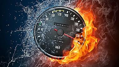 Лихачи на столичных дорогах. Правоохранители оштрафовали водителей за превышение скорости