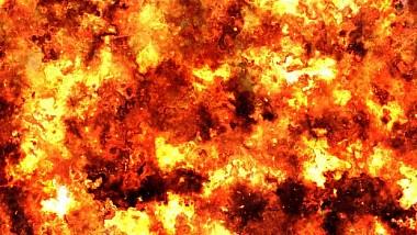 Incendiu de proporţii într-o piaţă din oraşul Nalcik din sudul Rusiei