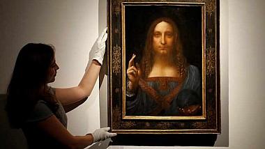 """Renumita pictură """"Salvator Mundi"""" va fi expusă la Muzeul Luvru din Abu Dhabi"""