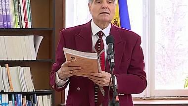 """Expertul în protocol, Oreste Tărîță, a lansat cartea """"Bunele Maniere"""""""