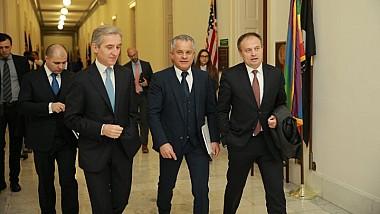 Preşedintele PDM a discutat cu oficialii americani pe subiecte de interes internaţional, cu accent pe situaţia din Republica Moldova şi din regiune