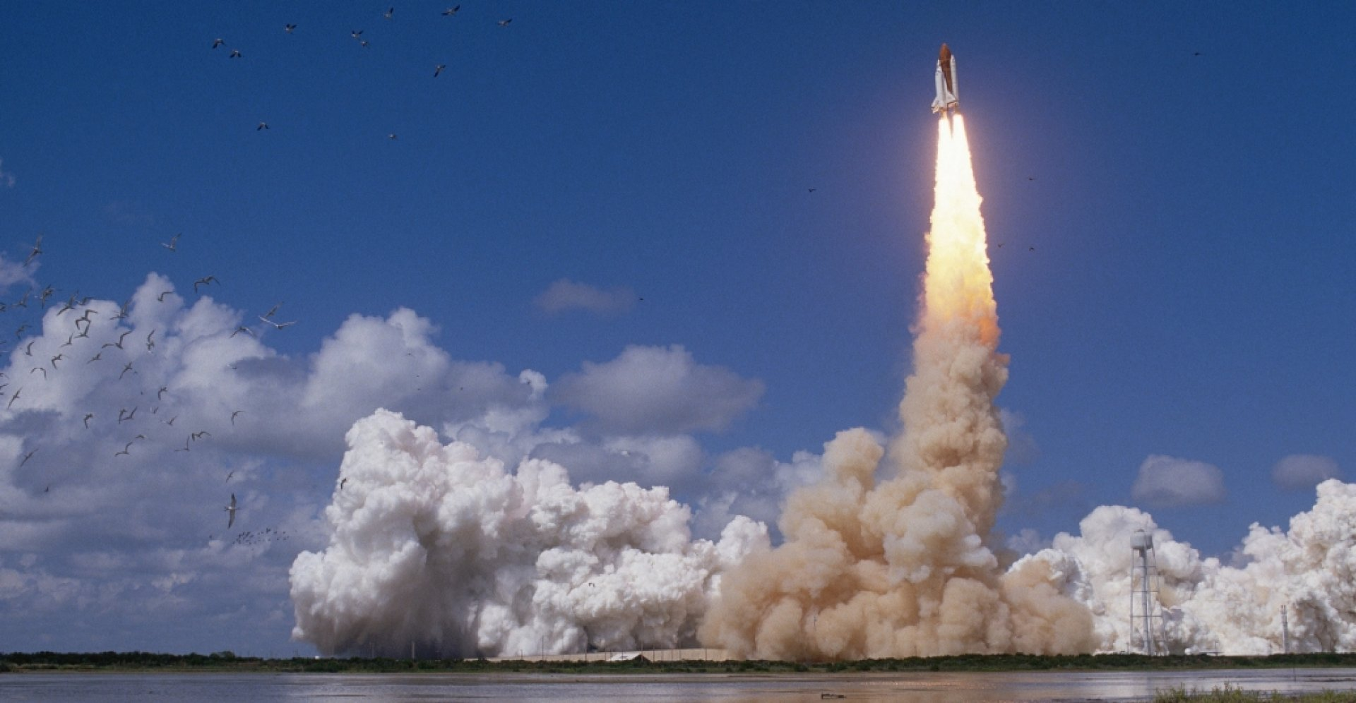 space shuttle launch - HD 3010×2046