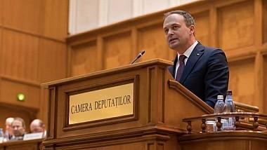Şedinţa solemnă a Parlamentului de la Bucureşti. Şeful Legislativului de la Chișinău, Andrian Candu, a susținut un discurs în fața deputaților români