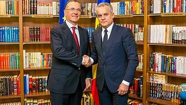 Vlad Plahotniuc a avut o întrevedere cu reprezentantul special al OSCE pentru reglementarea transnistreană, Franco Frattini