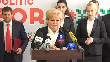 Reghina Apostolova este candidatul Partidului Şor la funcţia de primar al Capitalei