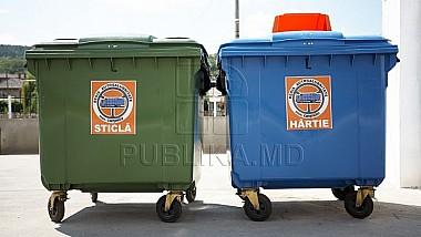 Cinci sute de platforme de colectare a deșeurilor vor fi modernizate
