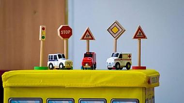 """Copiii din raionul Nisporeni au participat la concursul """"Securitate în trafic înseamnă viață"""""""