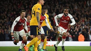 Arsenal Londra şi Atletico Madrid s-au despărţit la egalitate scor 1 la 1 în prima manşă a semifinalelor Ligii Europa