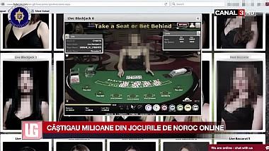 Câştigau milioane din jocurile de noroc online