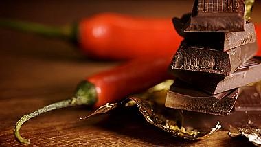 Desert vulcanic. Cea mai iute ciocolată din lume conţine extract de chili