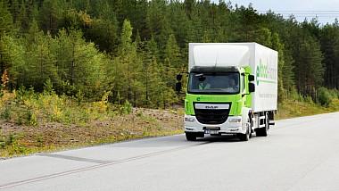 O nouă şosea electrică în Suedia