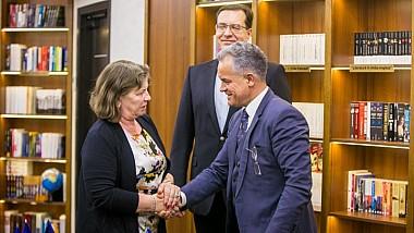 Norica Nicolai, la întâlnirea cu Vlad Plahotniuc: Moldova trebuie să continue reformele, iar parcursul european al ţării este ireversibil