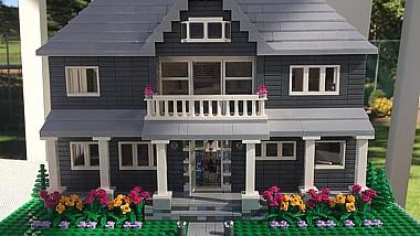 Replicile Lego a caselor reale