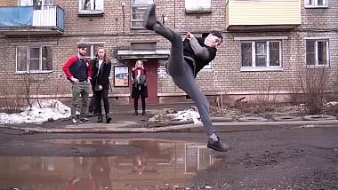 Lecţii de acrobaţie de la un grup de cascadori din Rusia