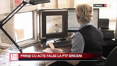 Prinşi cu acte false la PTF Briceni