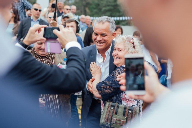 Праздничные мероприятия в честь 9 мая прошли в сквере Кафедрального собора