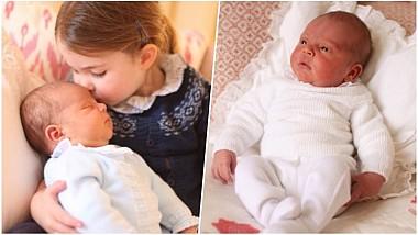 Primele imagini oficiale ale prinţului Louis