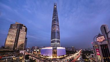 Peste 1500 de sportivi profesionişti au alergat în incinta Lotte World Tower