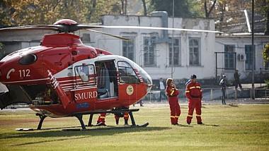 Fata de 23 de ani, victima unui accident rutier şi care a fost adusă cu elicopterul SMURD de la Vulcăneşti la Chişinău a murit