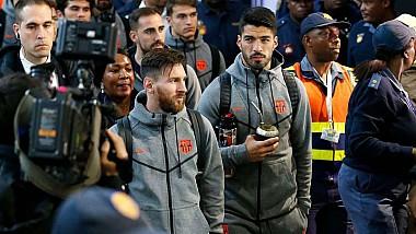 Mare nebunie la Johannesburg! Echipa Barcelonei a ajuns în capitala Africii de Sud pentru un amical