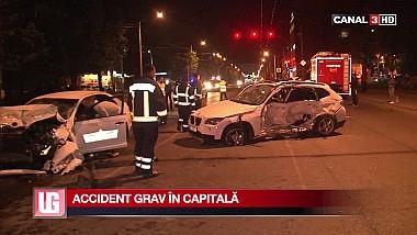 Accident grav în Capitală