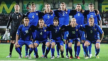 Gest fabulos din partea echipei naţionale de fotbal a Moldovei. Vedetele noastre au oferit un antrenament pentru 26 de copii de la un centru comunitar din Chişinău