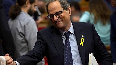 Catalonia are un nou premier după cinci luni de criză politică