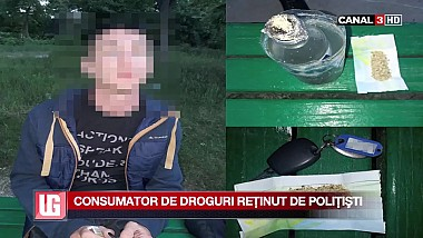Consumator de droguri reţinut de poliţişti