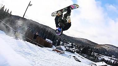 La 10 ani, legendă în snowboarding. Băiatul curajos și-a înregistrat numele în Cartea Recordurilor