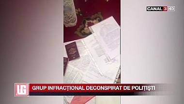 Grup infracţional deconspirat de poliţişti
