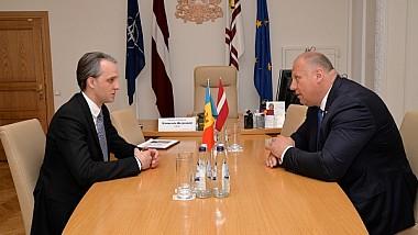 Eugen Sturza: Moldova contează pe sprijinul Ţărilor Baltice în domeniul securităţii naţionale