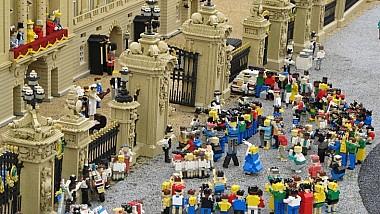 Căsătoria Regală în piese de lego