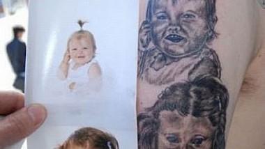 Tatuaje cu ADN-ul celor dragi