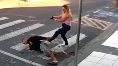 O polițistă din Sao Paolo, aflată în timpul ei liber, a reușit să împiedice cea ce se putea transforma într-o tragedie sângeroasă