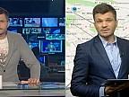 Fază amuzantă în cadrul emisiunii Ştirile Dimineţii. Vlad Burac discută cu …Vlad Burac