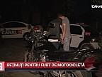 Reţinuţi pentru furt de motocicletă