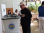 Ход голосования на одном из избирательных участков в столице
