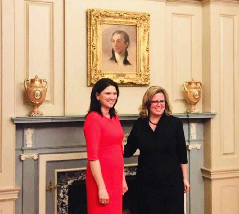 Cristina Balan a prezentat copiile scrisorilor de acreditare în calitate de Ambasador agreat al Republicii Moldova în Statele Unite ale Americii