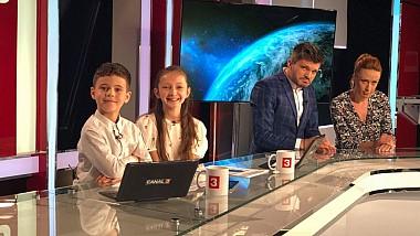 Micii prezentatori. Noua generaţie a emisiunii Ştirile Dimineţii