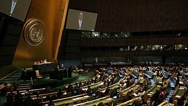 Adunarea Generală a ONU va dezbate proiectul de rezoluţie cu privire la retragerea forţelor militare străine de pe teritoriul Moldovei